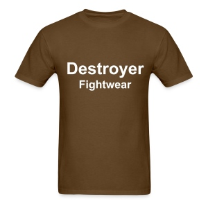 Destroyer Kick Boxer - Men's T-Shirt