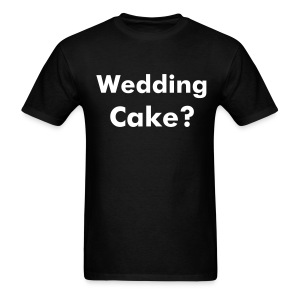 Wedding Cake  t shirt - Men's T-Shirt