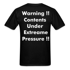 Extreame Pressure t   back - Men's T-Shirt