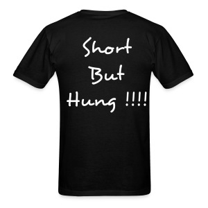 Short but Hung  t  back  - Men's T-Shirt