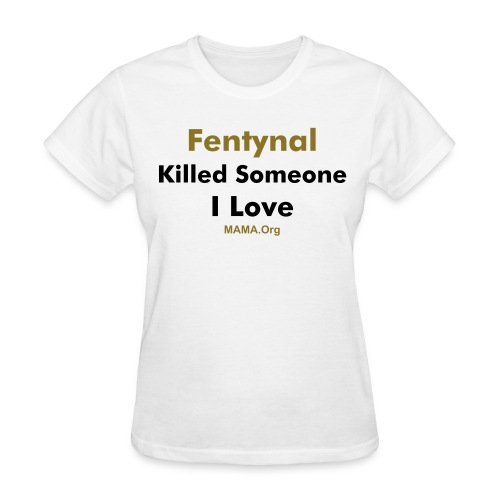 Womens Tee, Fentynal - White - Women's T-Shirt