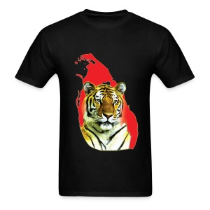 Tiger within Tamil Eelam - Men's T-Shirt