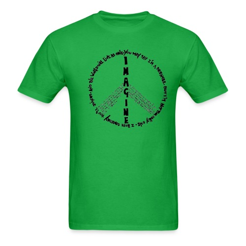 Imagine Peace - Men's T-Shirt