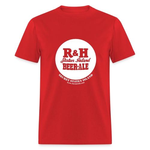 R&H Staten Island Brewery - Standard Weight Shirt - Red - Men's T-Shirt