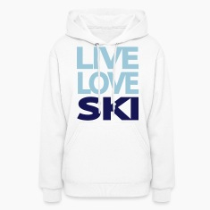Live Love Ski Women's Sweatshirt