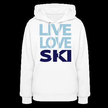 Live Love Ski Women's Sweatshirt