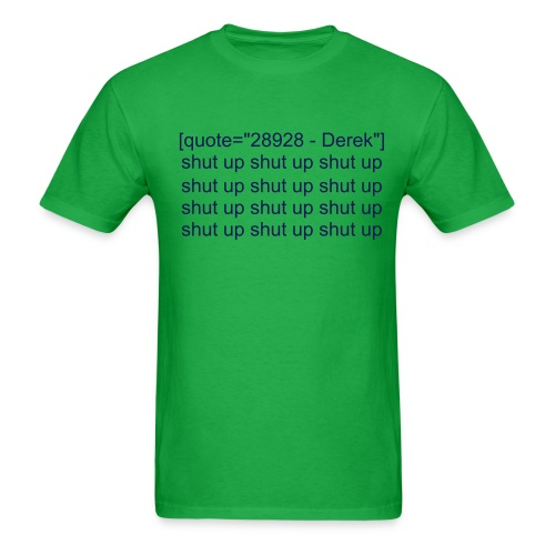 DerekQuote - Men's T-Shirt
