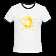 T-Shirts ~ Men's Ringer T-Shirt ~ Men's Logo Red Ringer