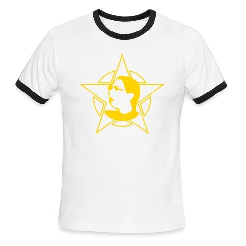 Men's Logo Red Ringer - Men's Ringer T-Shirt