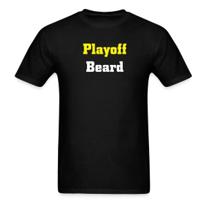 Playoff Beard - Men's Standard T-shirt - Men's T-Shirt