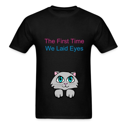 The First time - Men's T-Shirt