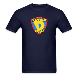 Super Dad Father's Day T-Shirt - Men's T-Shirt