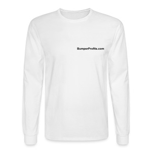 Choose your own color.  Domain on front only. - Men's Long Sleeve T-Shirt
