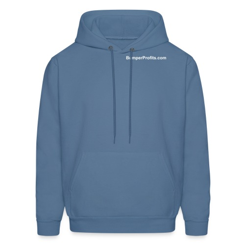 Choose your own color.  Domain on front only. - Men's Hoodie