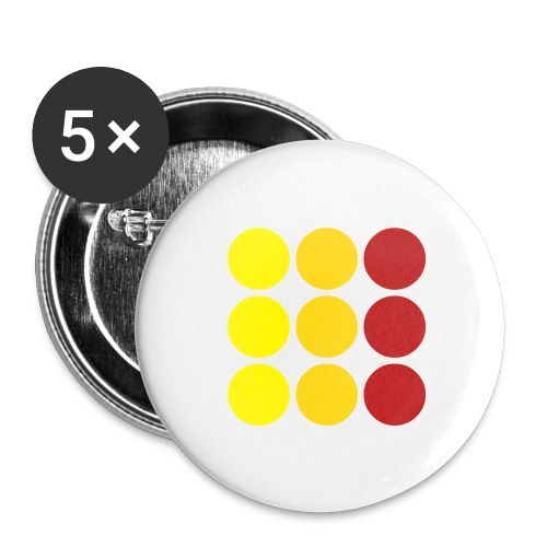 Buttons small 1'' (5-pack)