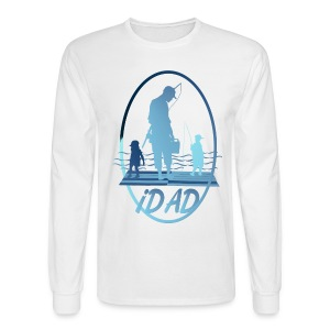 iDAD framed - Men's Long Sleeve T-Shirt