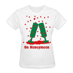 On Honeymoon - Women's T-Shirt