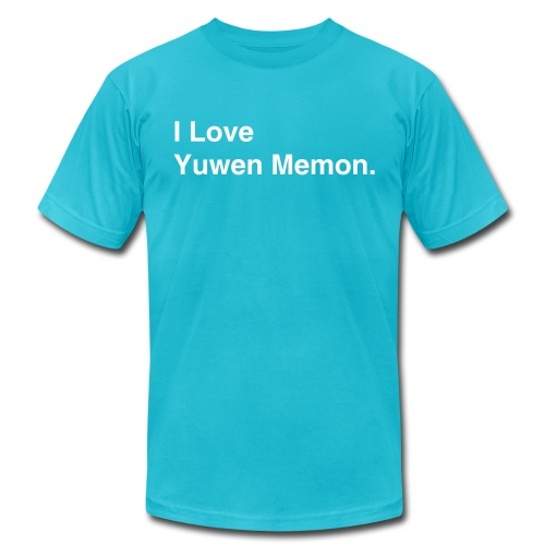 I Love Yuwen! - Men's Fine Jersey T-Shirt