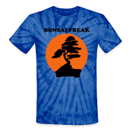 T-Shirts ~ Unisex Tie Dye T-Shirt ~ Bonsai Freak