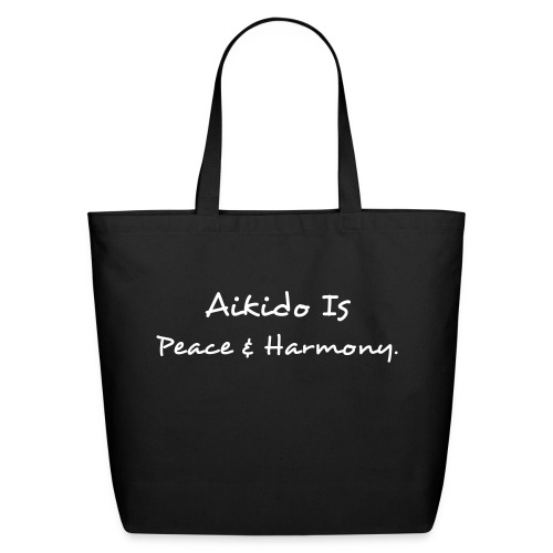 Aikido Peace & Harmony - Eco-Friendly Cotton Tote