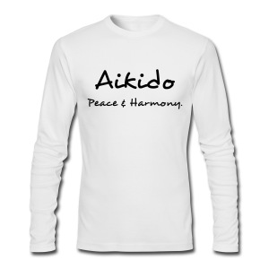 Aikido Peace & Harmony - Men's Long Sleeve T-Shirt by Next Level