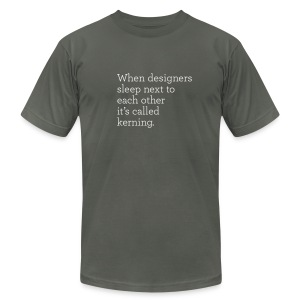 Kerning - Men's T-Shirt by American Apparel
