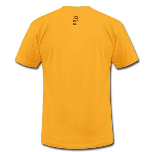 Undo is a Lie - Men's Fine Jersey T-Shirt