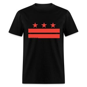 Washington DC Flag - Men's T-Shirt