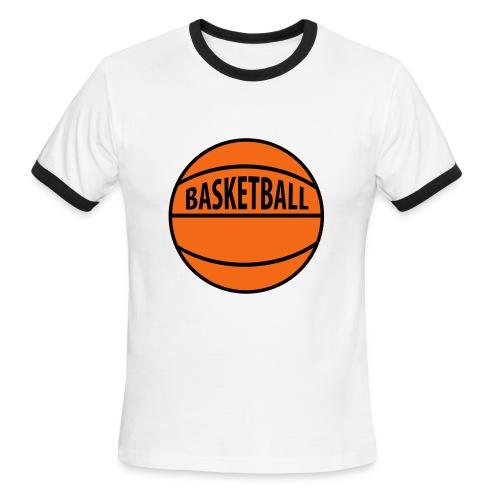 BASKETBALL SHIRT - Men's Ringer T-Shirt