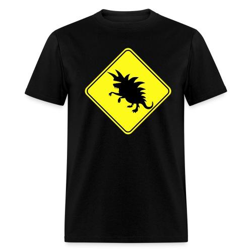 Tarrasque Warning! Men's T-shirt - Men's T-Shirt