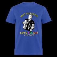T-Shirts ~ Men's T-Shirt ~ Men's Standard Weight T-Shirt/Blue