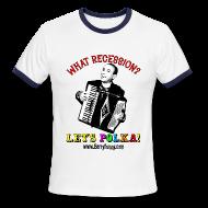 T-Shirts ~ Men's Ringer T-Shirt ~ Men's Ringer Tee/White-Navy
