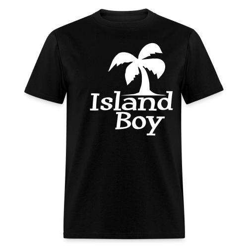 Men's Palm Logo (Black) - Men's T-Shirt