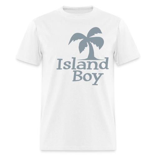 Men's Palm Logo (White) - Men's T-Shirt
