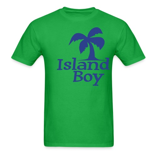 Men's Palm Logo (Green) - Men's T-Shirt