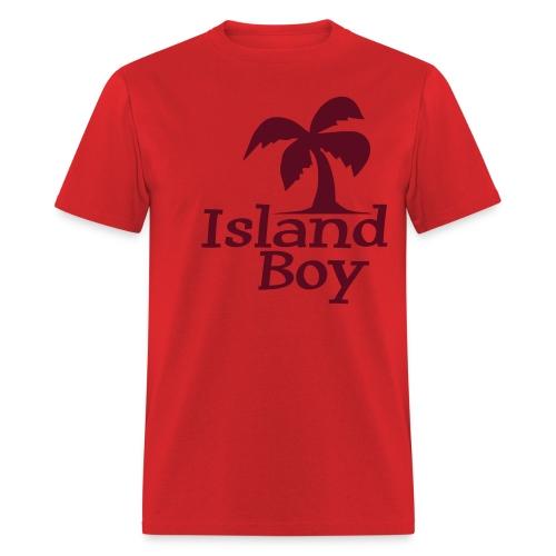 Men's Palm Logo (Red) - Men's T-Shirt