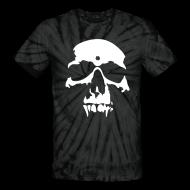 T-Shirts ~ Unisex Tie Dye T-Shirt ~ Skull Tee