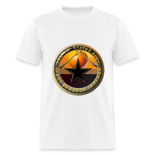 IRAQI FREEDOM VETERAN ($4.00 of each shirt goes to the VFW to help ALL VETERANS) - Men's T-Shirt