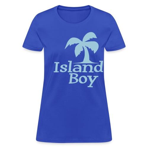 Ladies Palm Logo (Light Blue) - Women's T-Shirt