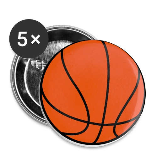 Basketball for Team Shirts - Large Buttons