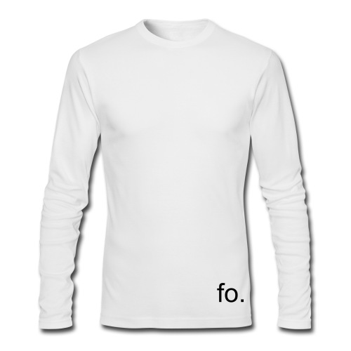 fo. - Men's Long Sleeve T-Shirt by Next Level