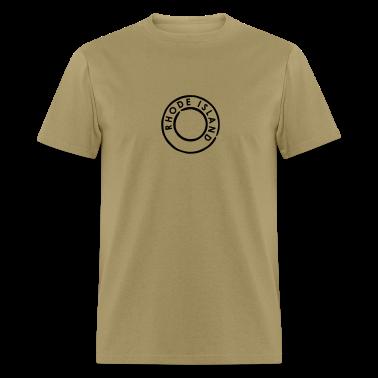 Khaki Rhode Island T-Shirts