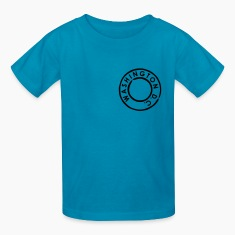 Classic pink Washington DC Kids' Shirts