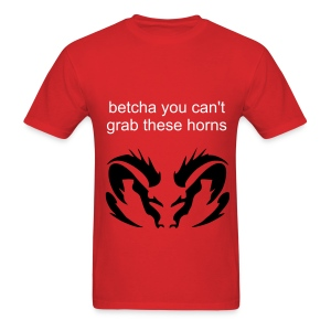 grab life by these horns - Men's T-Shirt
