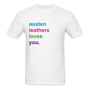 austenleatherslovesyou - Men's T-Shirt