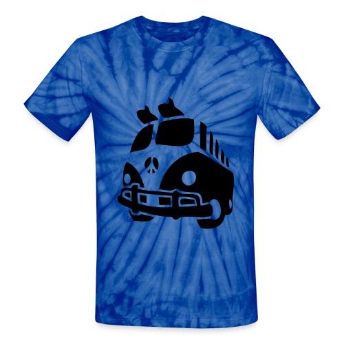 Tidy tie dye - Unisex Tie Dye T-Shirt