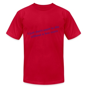 Die without scars - Men's Fine Jersey T-Shirt