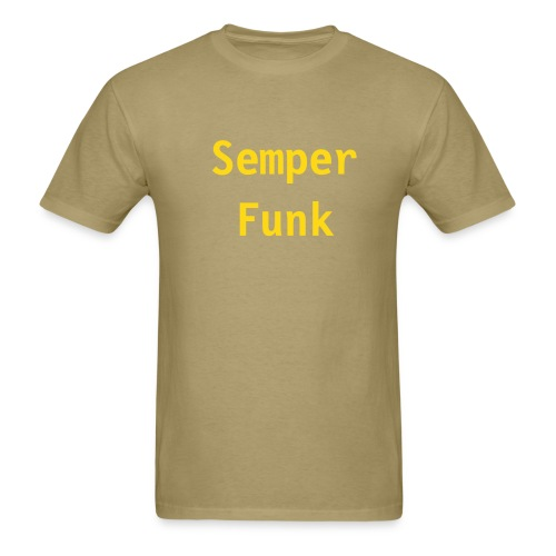 Semper Funk Men's Green/Gold - Men's T-Shirt