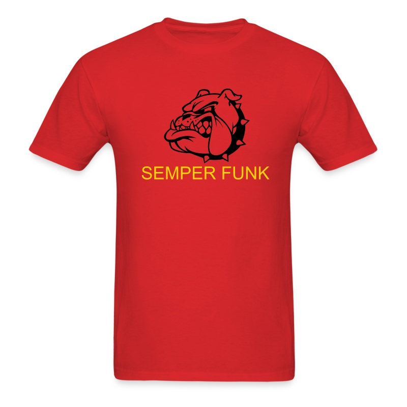 SF Bulldog Std Wt Mens - Men's T-Shirt