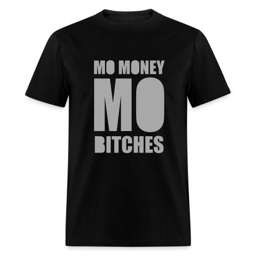 Mo Money, Mo Bitches - Silver Sparkle - Men's T-Shirt
